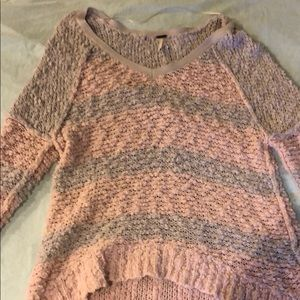 XS Free People slouchy sweater